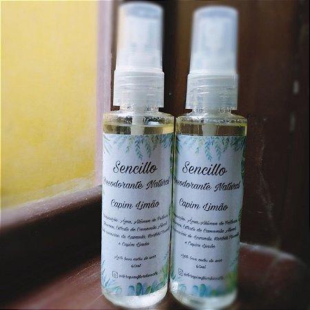 Sencillo - Desodorante natural