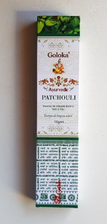 Incenso Goloka Ayurvedic Pathouli- massala