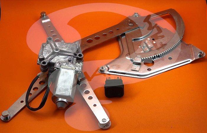 Kit de Vidro Elétrico SCANIA 113 CHARADA (Máquina, Motor e Botão)