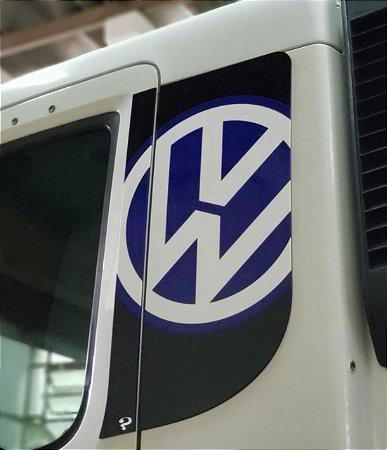 Aplique/Acabamento CHARADA em Acrílico Coluna VW CONSTELLATION CHARADA (Conjunto)