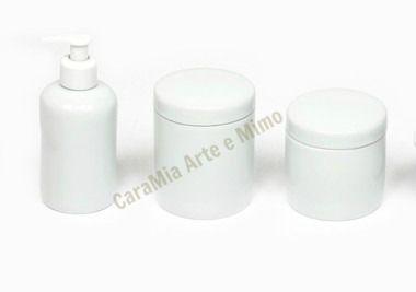 Kit Banheiro em Porcelana
