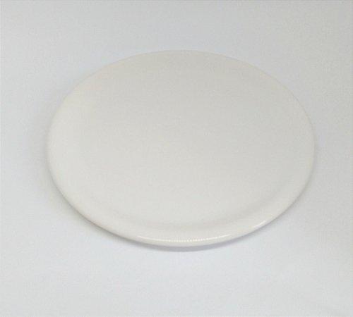 Bandeja Cerâmica Off-white 30 cm para kit e para Garrafa