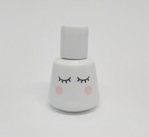 Moringa Olhinhos 350 ml em Porcelana Branca