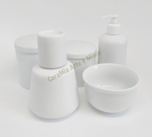 Kit Higiene Bebê Porcelana com Moringa 350 ml