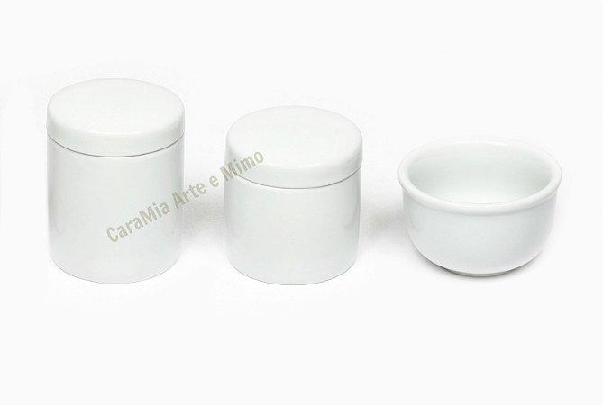 Kit Higiene Bebê Porcelana | Paz para o Bebê | 3 Peças
