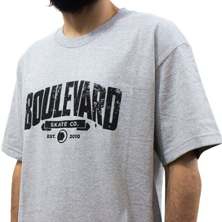 Camiseta Boulevard Mescla Mid Arch Importada
