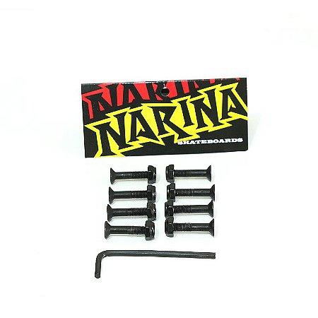 Kit de Parafusos Narina Allen 2,5cm Porca 10