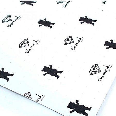 Lixa Grizzly Stamp White - Urso Destacável
