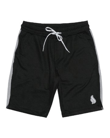 Bermuda Simple Skate Moletom Premium Black