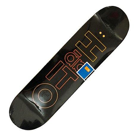 Shape Hábito Skateboard Desconstruction Marfim  8.0