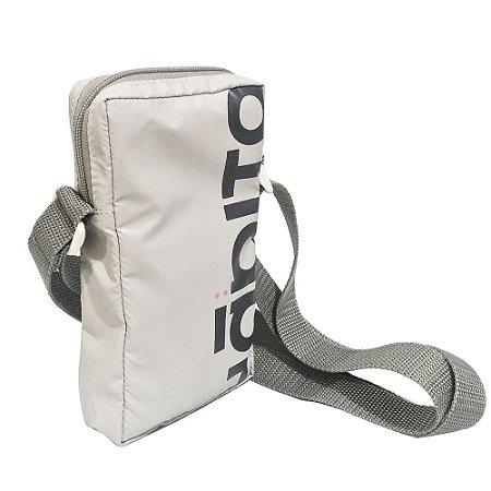 Bolsa Hábito Skateboard Shoulder Bag Cinza