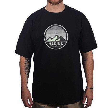 Camiseta Narina Skateboards Mountain