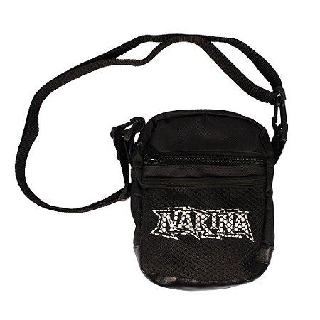 Shoulder Bag Narina Skateboards Logo Tela