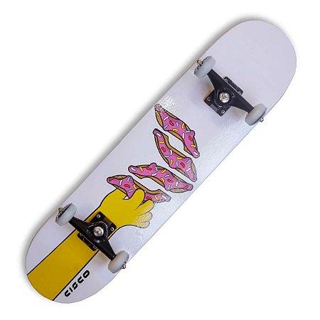 Skate Montado Cisco Pro Donuts