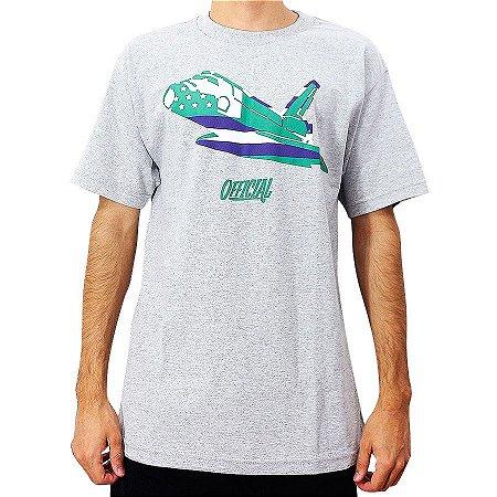 Camiseta Official Space Shuttle Mescla Importada