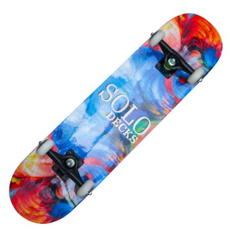 Skate Montado Solo Decks Pro Colors
