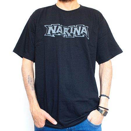Camiseta Narina Skateboards Logo Vazado