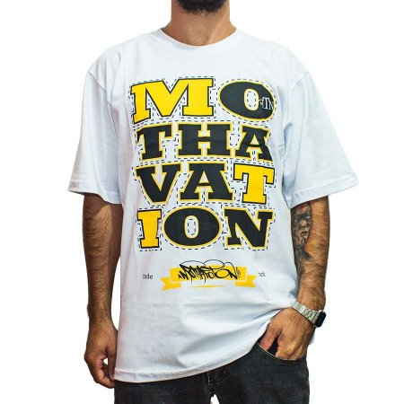 Camiseta Foton Skateboards Branca Mothavation