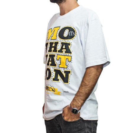 Camiseta Foton Skateboards Branca Mothavation