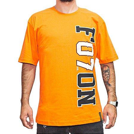 Camiseta Foton Skateboards Laranja 07