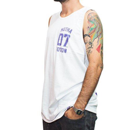 Camiseta Regata Foton Skateboards Branca 07