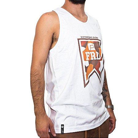 Camiseta Regata Freeday Tag Branca