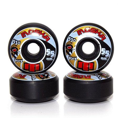 Roda Moska Trick 53D Preta - 55mm