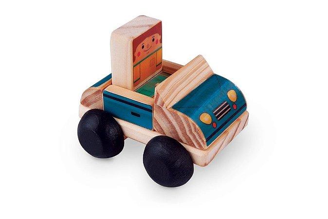 Toy Arte - Carro de madeira