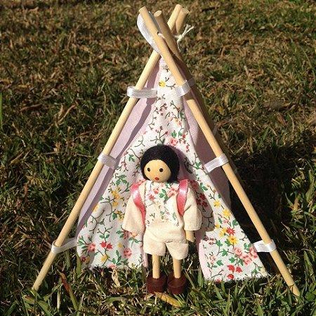 Kit mini acampamento (ROSA)
