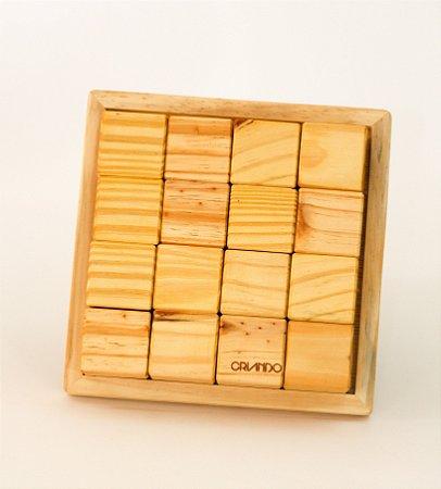 16 Cubos Naturais