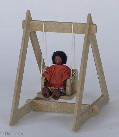 Mini balança boneca