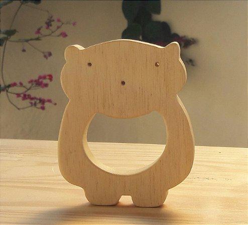 Mordedor de madeira - Urso