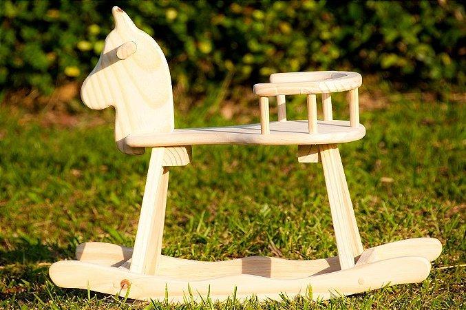 Cavalo de balanço - Mirim