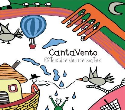 "CD ""CantaVento - Esticador de Horizontes"""