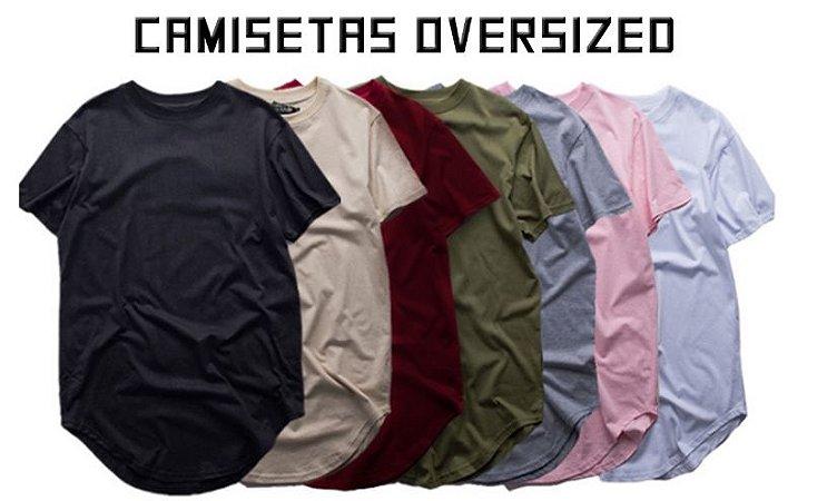 Camiseta Oversized - PRONTA ENTREGA (FRETE GRÁTIS)