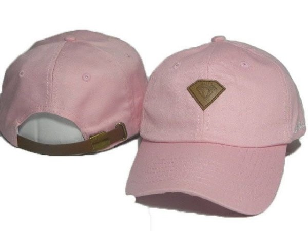 Boné Diamond Supply CO. s6x - Rosa