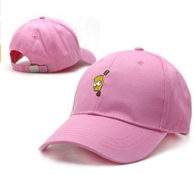 Boné Rosa - Simpson 1.0 (Strapback)