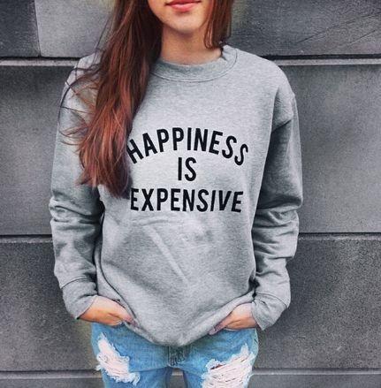 Moletom Feminino - Happiness is Expensive