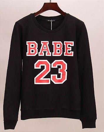 Blusa de Frio Feminina - BABE 23 (Preto ou Branca)