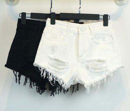 Shorts Feminino - Destroyed (Diversas Cores)