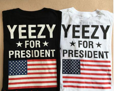 Camiseta - YEEZY FOR PRESIDENT
