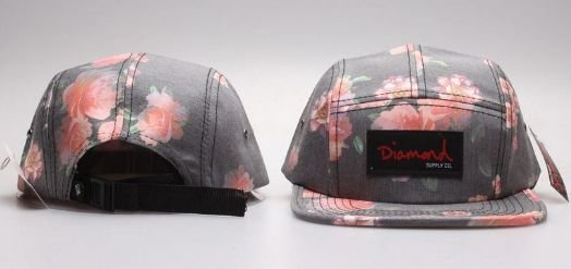 Boné 5Panel Diamond - Flower Greener 2.0