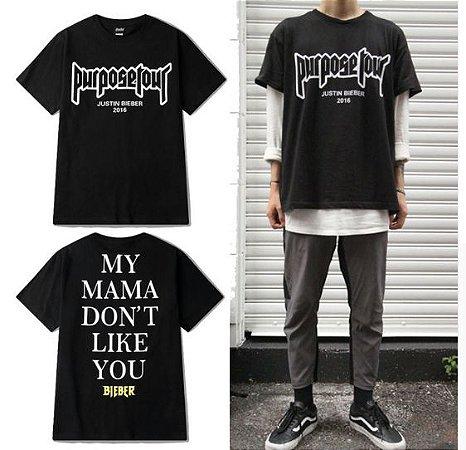 Camiseta MY MAMA DON´T LIKE YOU - Unissex