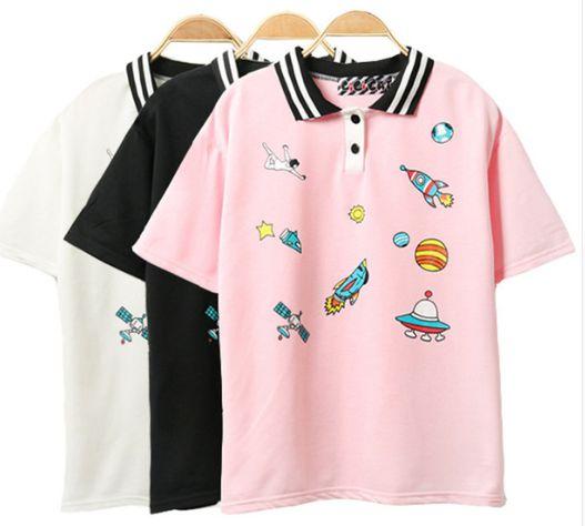Camiseta Feminina - Polo SPACE