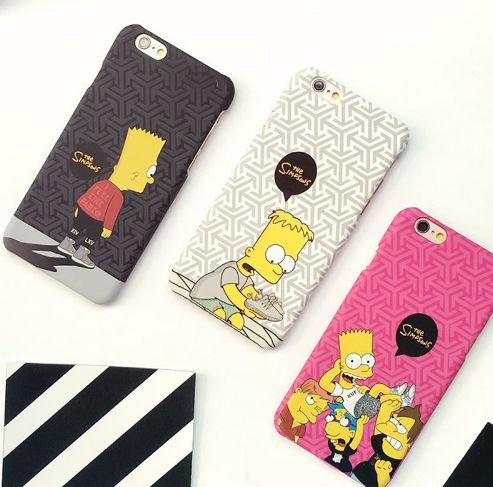 Capinha Iphone - Simpsons