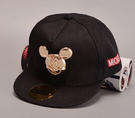 Boné Snapback - Black Mickey GOLD