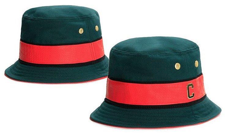 Chapéu Bucket Cayler & Sons - Green/Red