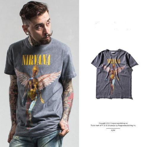 Camiseta Unissex - Nirvana