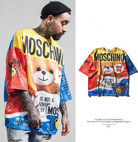 Camiseta Moschino FUN - Unissex