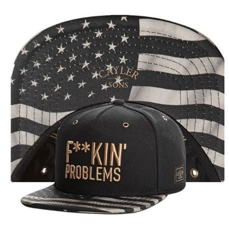 Boné - Cayler & Sons GOLD PACK F**KIN PROBLEMS